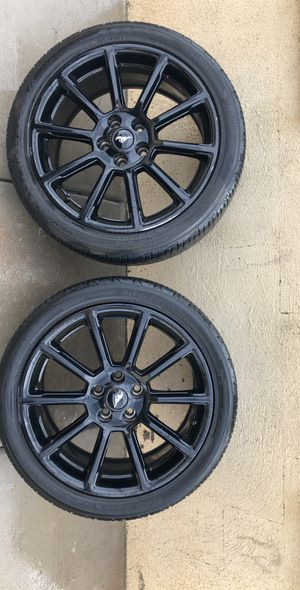 "Black Mustang rims / wheels 19"" for Sale in Tucson, AZ"