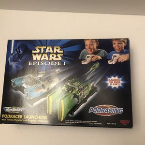 Star Wars Episode 1 Podracer launchers With Pod Racer Pack 1 for Sale in Porterdale, GA