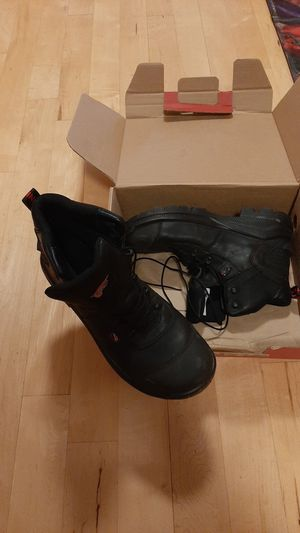 Red wing size 12 aluminum toe work boot for Sale in Bonney Lake, WA