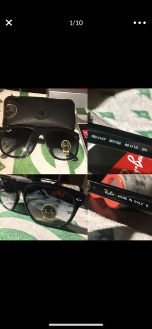 PROOF THEYRE THE SAME RayBan RB4147 Boyfriend Sunglasses New in Box rare for Sale in Orange, CA