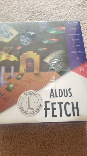 Aldus Fetch Apple Software Brand New for Sale in Newberg, OR