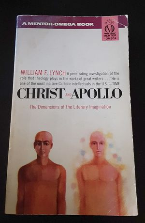 "Christ and Apollo ""The dimensions of the Literary Imagination"" by William F. Lynch paperback book for Sale in Los Angeles, CA"