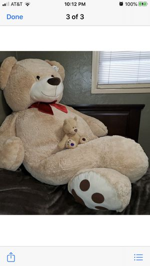 New Giant Stuff Tan and Brown Teddy Bear for Sale in Miami, FL