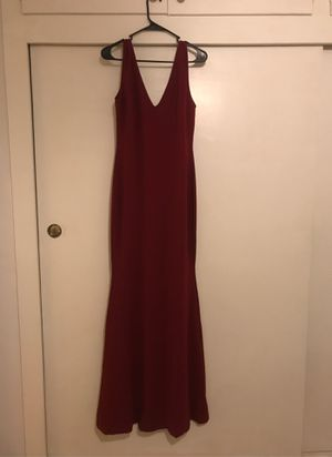 Burgundy dress-prom, wedding, bridesmaid for Sale in Los Angeles, CA