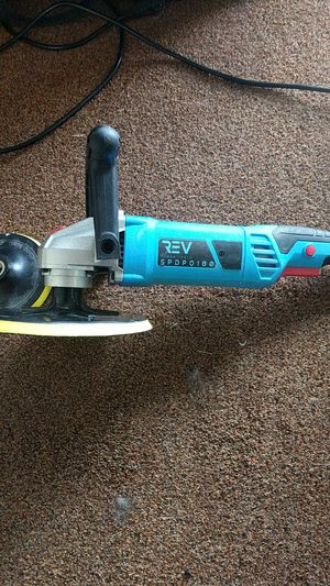 REV polisher and Sander with backing plates for Sale in Mount Morris, MI