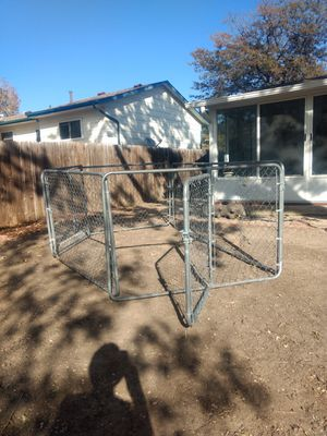 4' high chain link animal pen w/gate for Sale in Colorado Springs, CO