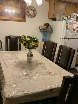 Fridge And Dinning Table for Sale in Orange,  CA