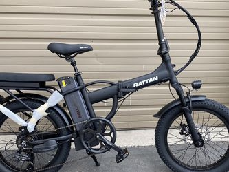 YAMEE LM-500 - 500 Watts Tandem Fat Tire Folding Aluminum Electric Bike for Sale in Diamond Bar,  CA