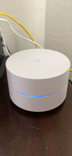 Google Wifi Dual Band 5ghz Router (3-piece set) for Sale in Aurora, CO
