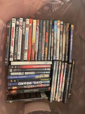 Take all 📀 dvds for Sale in Fontana, CA