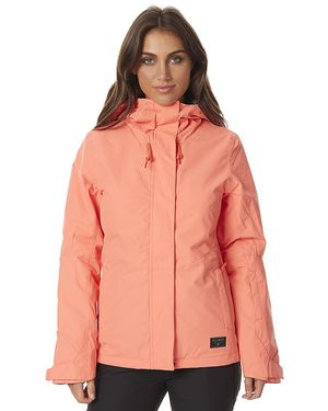 Billabong coral winter parka coat Medium size women's for Sale in Lorton, VA
