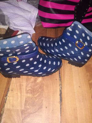 Rain Boots size 8 for Sale in Lithia Springs, GA
