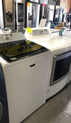 Maytag washer and kenmore gas dryer $600 for Sale in Garden Grove, CA