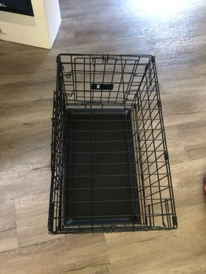 Small dog crate with some accessories for Sale in Beaverton, OR