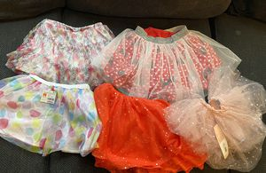 Girls tutus 4t,5t hello kitty , Minnie Mouse, birthday girl, Halloween & ballerina for Sale in City of Industry, CA