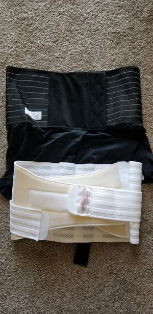 Pregnancy back support belt and postpartum belt for Sale in Round Lake Heights, IL