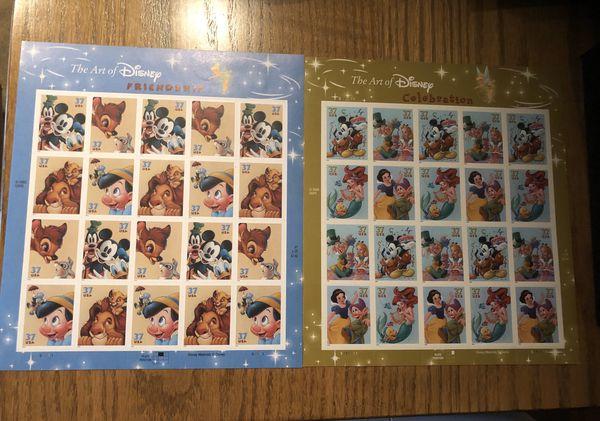 Disney Stamps