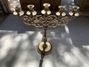 Antique brass candelabra for Sale in Chandler, AZ