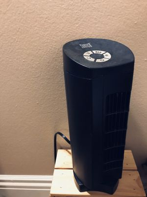 Sumter Rotating Tower Fan | Small | Black for Sale in Costa Mesa, CA