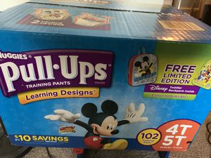 Huggies Pull-ups 4T-5T for Sale in Mount Prospect, IL