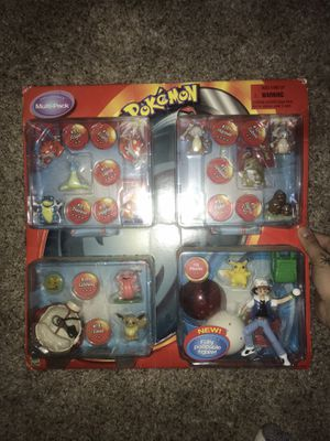 VINTAGE POKEMON ACTION FIGURE SET 2001 for Sale in Raleigh, NC