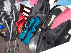 Car seat and two strollers for Sale in Houston, TX