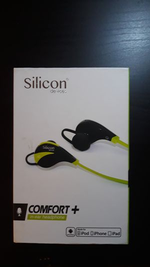 Silicon headphone Earbuds Devices Wireless Bluetooth Running Workout for Sale in Falls Church, VA