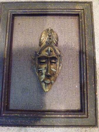 2 Framed Masks