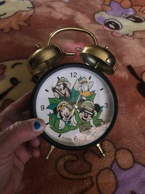 mickey and friends safari alarm clock for Sale in Hesperia, CA