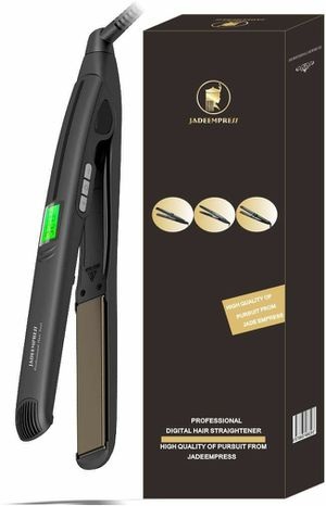 """Empress Professinal 1"""" Titanium Hair Falt Iron LCD Display Max 450°F Hair Straightener with Floating Plate for Sale in Fontana, CA"""