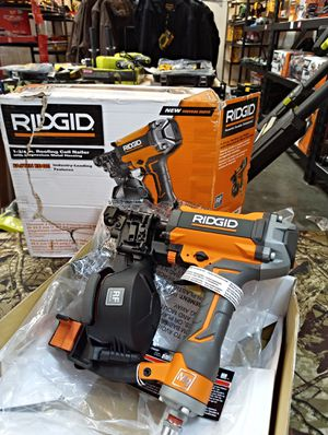 """NEW!!! RIDGID 3/4""""-- 1-3/4"""" ROOFING COIL NAILER! ABSOLUTELY NEW!! ONLY $100 FIRM ! for Sale in San Bernardino, CA"""