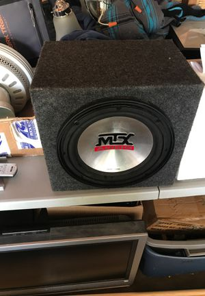 Speaker box only, the speaker is blown for Sale in Redlands, CA