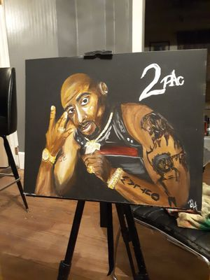 Acrylic 2pac painting for Sale in Cades, SC