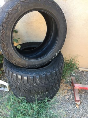 Roller temp tires for Sale in Modesto, CA