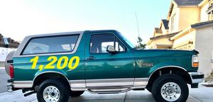 🎃$1.200 Selling my Ford🎃 bronco Platinum 1996🎃 for Sale in Fort Worth, TX