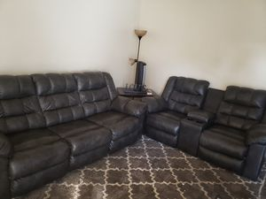 Leather couch/loveseat Recliners for Sale in Imperial Beach, CA