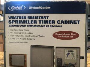 NEW Orbit Sprinkler System Cabinet for Sale in Riverside, CA