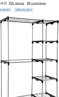 Mainstay Closet 2-Tier Organizer for Sale in SeaTac,  WA