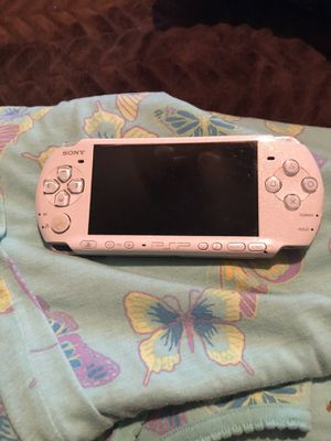 Sony psp with new battery, new charge cord and 9 games . for Sale in Pineville, LA