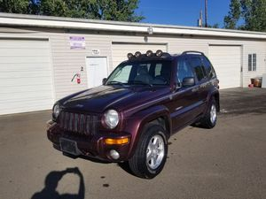 2004 Jeep Liberty 4x4 Limited Trail Rated Loaded for Sale in Salem, OR