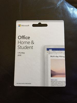 Microsoft Office : Home and Student 2019 for Sale in Canyon Lake, CA