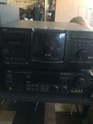 JVC CD player and receiver for Sale in Ontario, CA