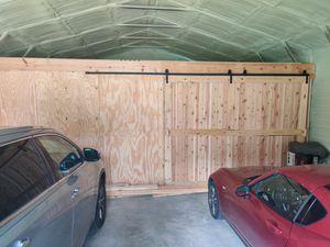 16 foot double door Barn door hardware. for Sale in Crawfordville, FL