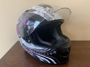 Harley Davidson Motorcycle Helmet - Landscape Airfit Sun Shield X03 Full-Face Helmet for Sale in Frederick, MD