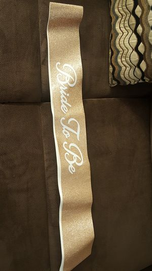 Brides sash for Sale in Ontario, CA