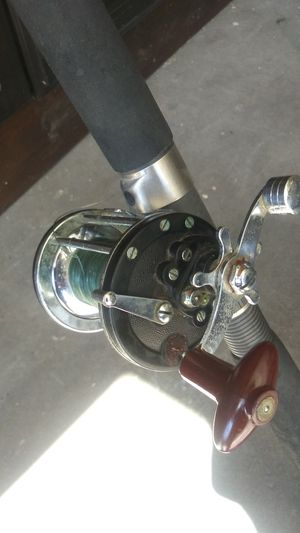 Fishing pole with reel for Sale in San Diego, CA