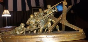 Call of Duty WW2 valor collection statue for Sale in Lake Charles, LA