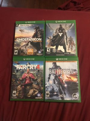 Xbox One Game Bundle for Sale in Silver Spring, MD