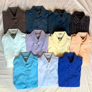 11 Men's Medium Express Long Sleeve Dress Shirts for Sale in Montclair, CA
