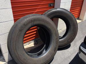 Truck tires tractor trailer MICHELIN BRAND for Sale in Pomona, CA